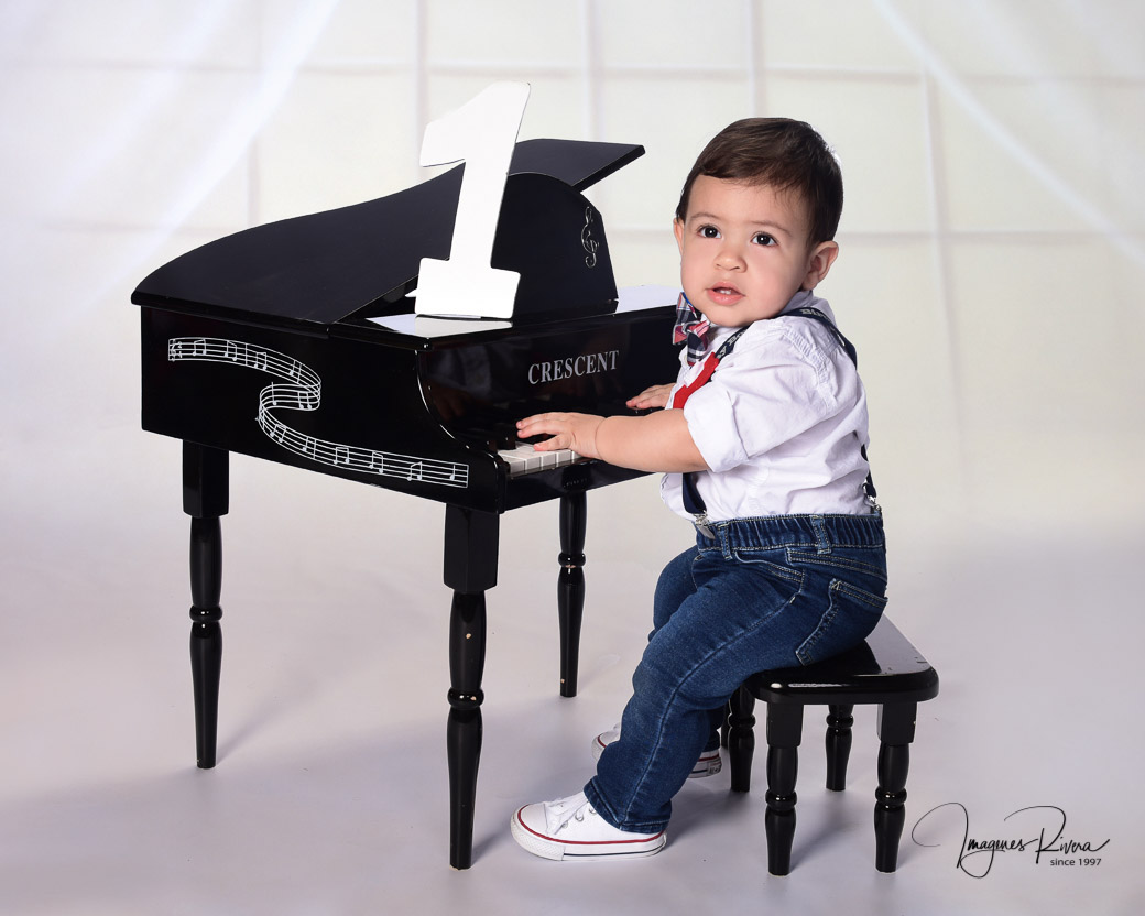 ♥ First year baby boy photography | Toddler photographer Imagenes Rivera Miami ♥