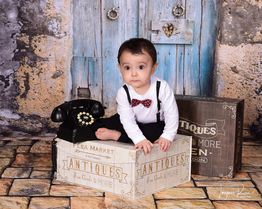♥ Cute baby milestone photos | Children photographer Imagenes Rivera ♥