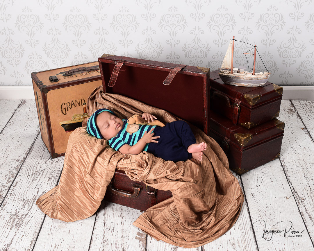 ♥ Cute baby milestone photo studio | Children photographer Imagenes Rivera ♥