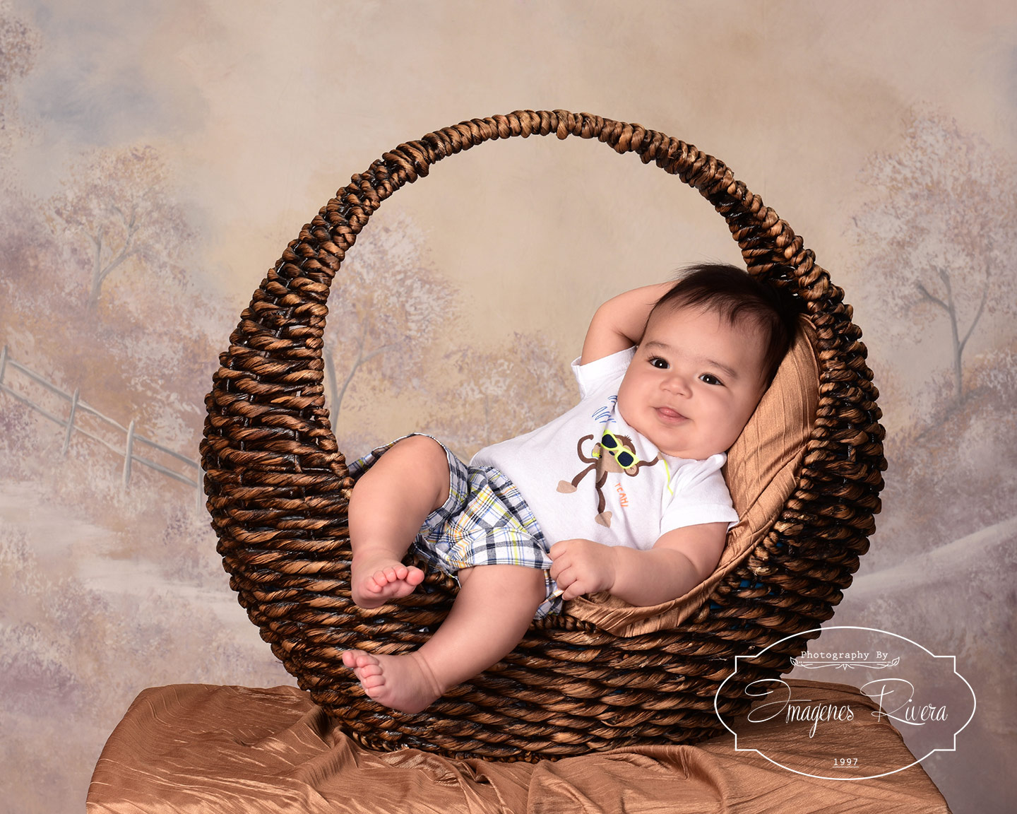 ♥ Watch me grow mini session | Baby Photographer Imagenes Rivera ♥