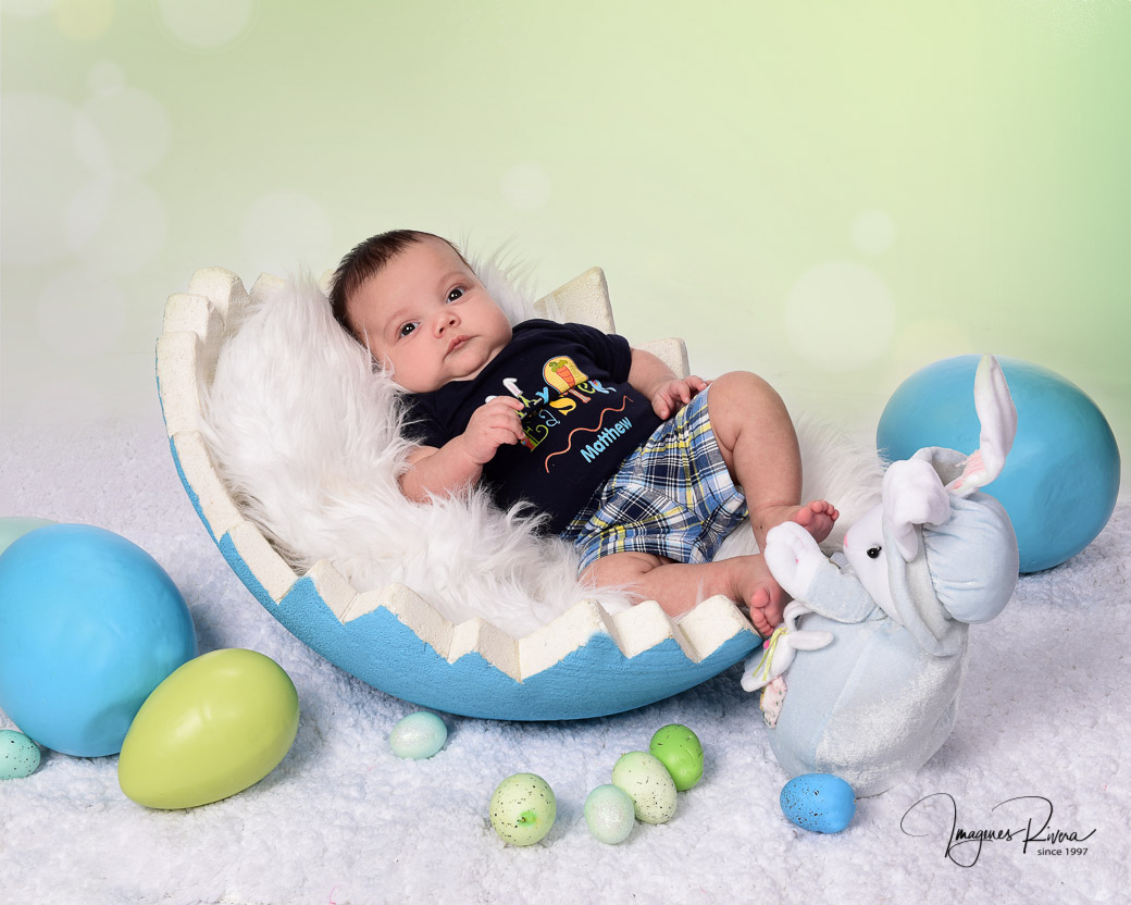 ♥ Easter 2018 baby photography | Imagenes Rivera Miami ♥