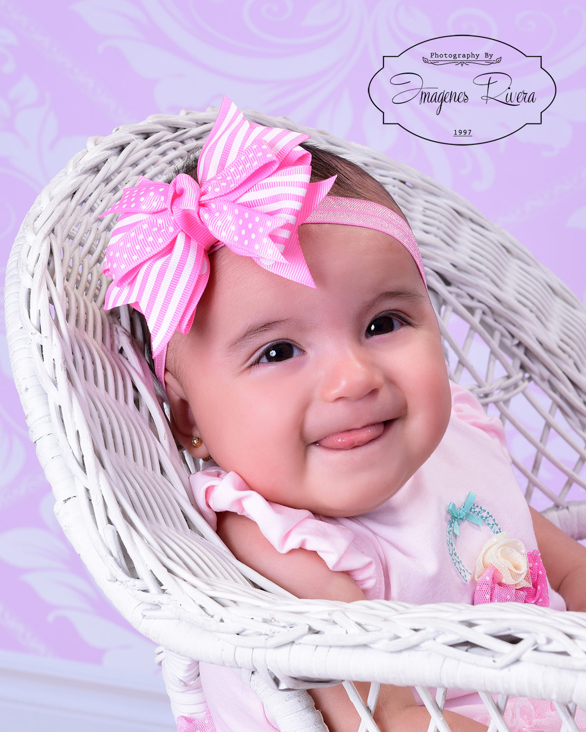 ♥ Gabriela´s milestone mini session | Miami baby photographer Imagenes Rivera ♥