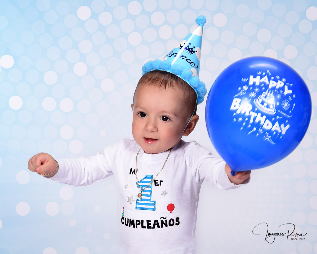 ♥ First Birthday Boy professional photography | Imagenes Rivera Miami ♥