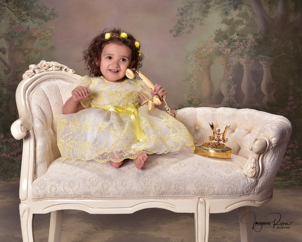 ♥ One year photo shoot | Baby photographer Imagenes Rivera ♥