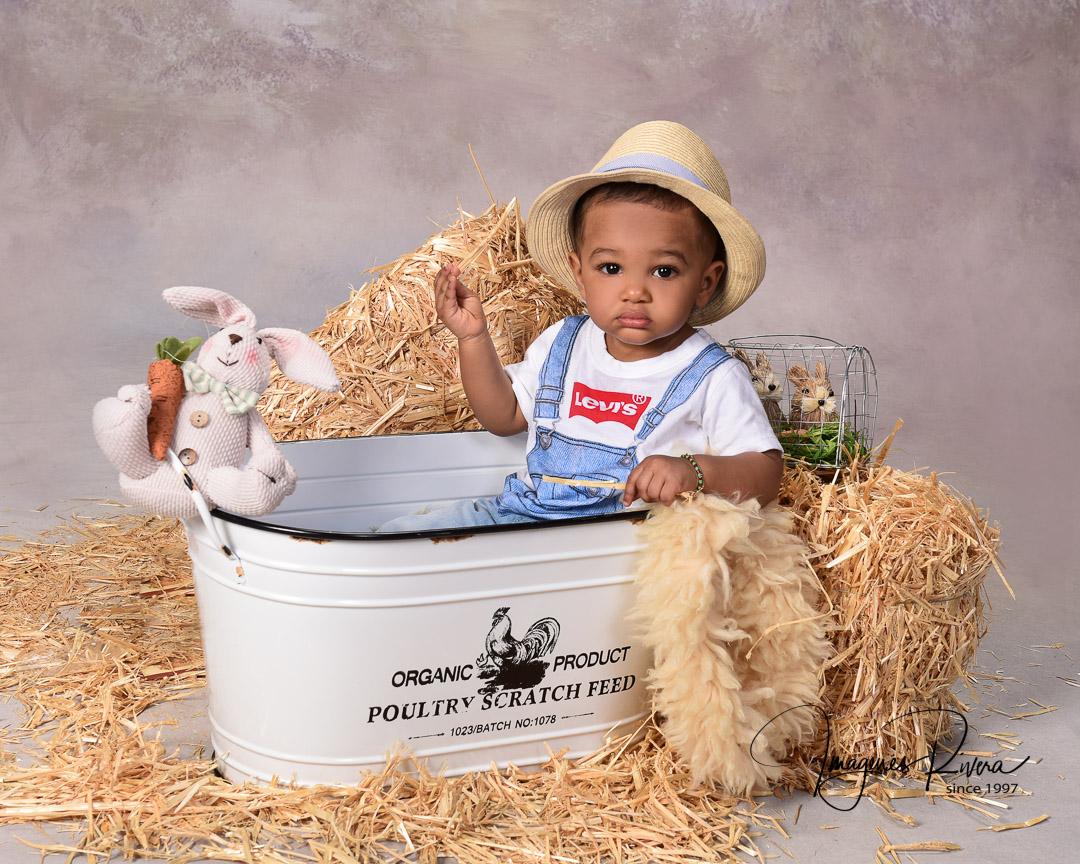 ♥ First Birthday Headshot   Toddler photographer Imagenes Rivera Miami ♥