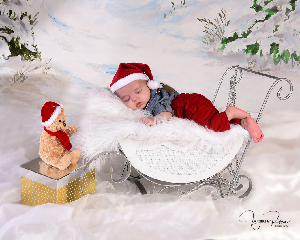 ♥ Christmas photo session  | Baby photographer Imagenes Rivera Miami ♥