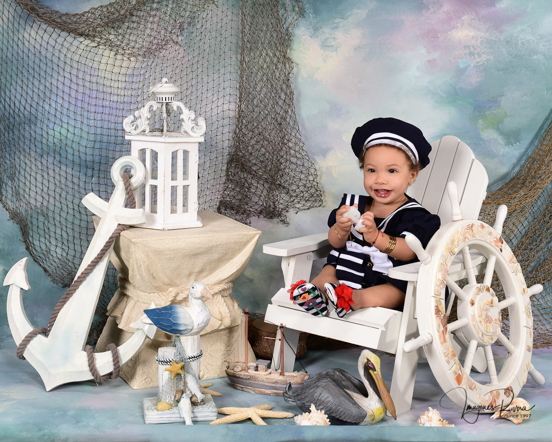♥ First Birthday session | Baby's photographer Imagenes Rivera ♥