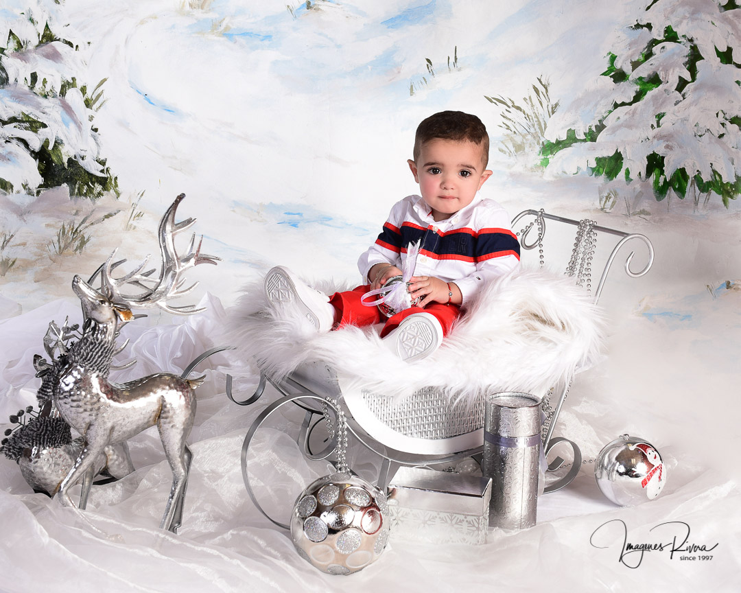 ♥ Christmas Family headshot  |  Imagenes Rivera Miami ♥