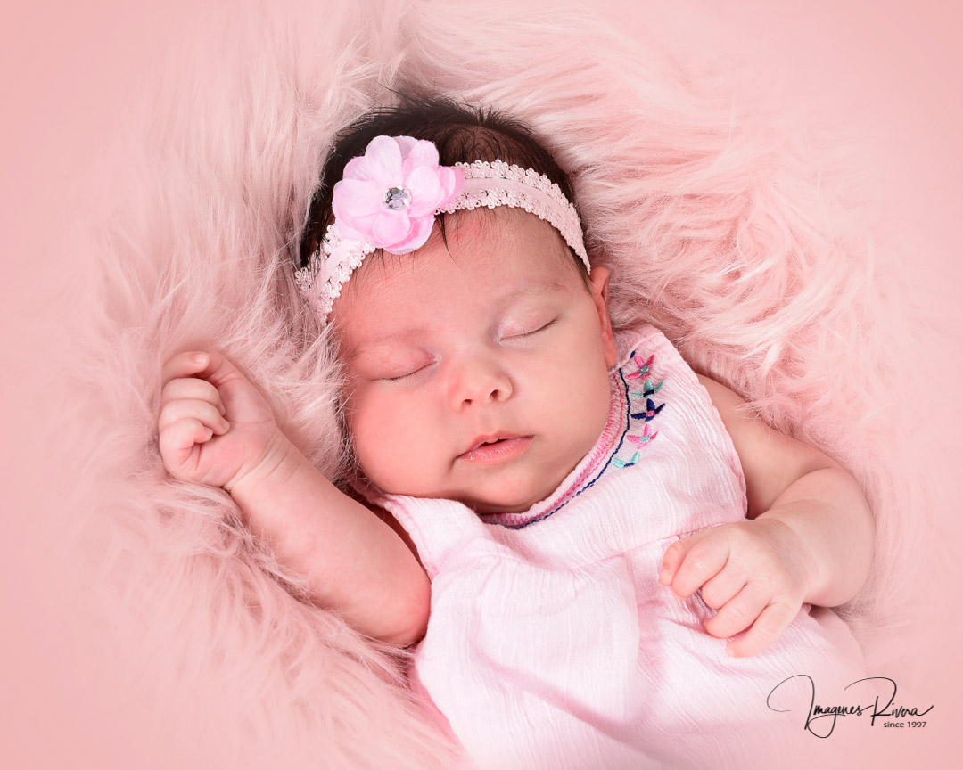 ♥ Baby girl milestone photo session | Imagenes Rivera ♥