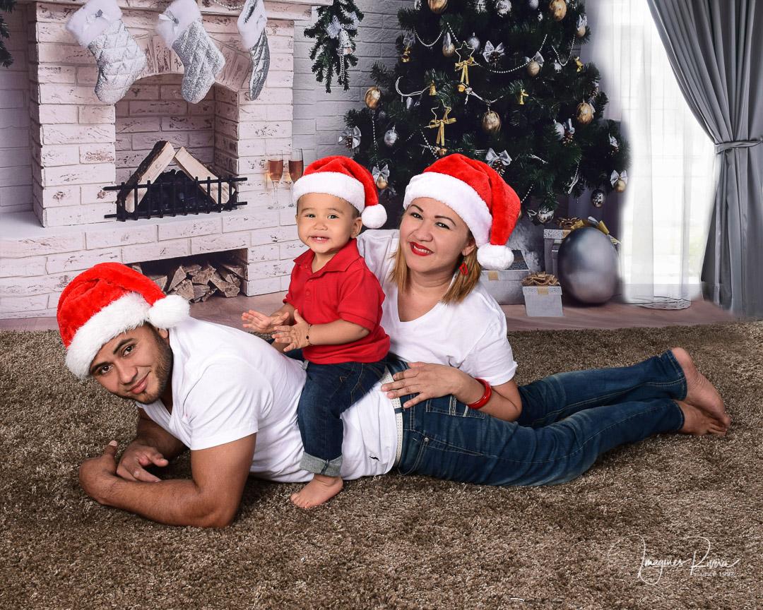 ♥ Christmas photo shoot | Baby photographer Imagenes Rivera ♥