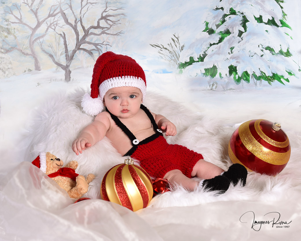 ♥ Christmas mini session  | Baby photographer Imagenes Rivera Miami ♥