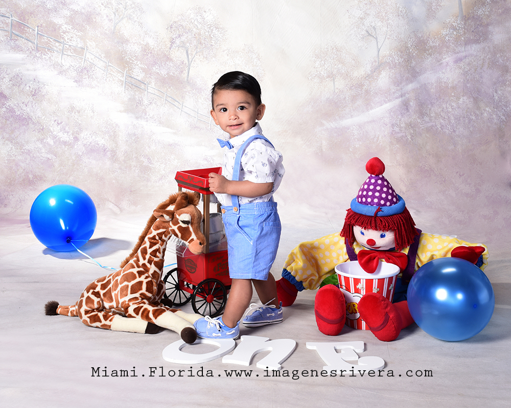 ♥ Luis Carlos's First Birthday | Imagenes Rivera Photography Miami ♥
