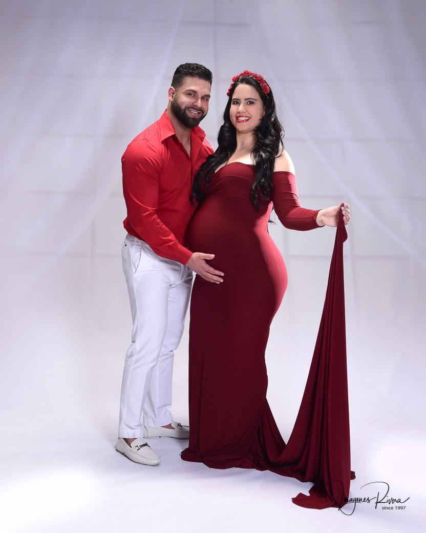 ♥ Pregnancy studio pictures | Maternity photographer Imagenes Rivera ♥