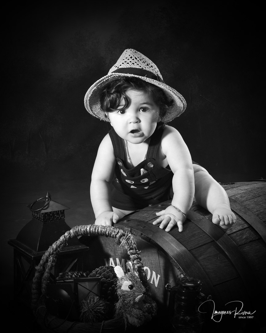 ♥ One year baby boy photos | Children photographer Imagenes Rivera ♥