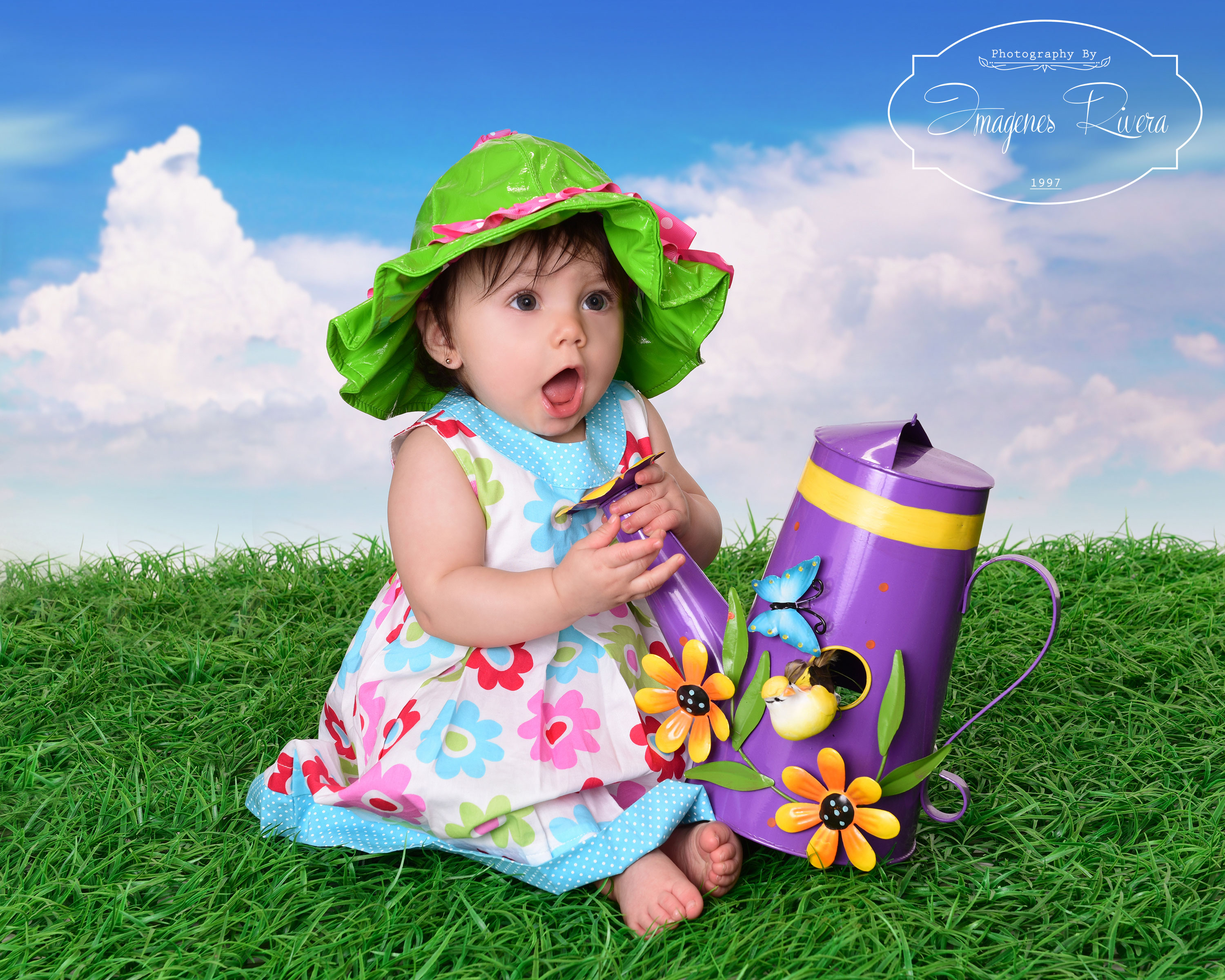 ♥ Baby Stephany´s 7 month child photography session in Kendall, Miami ♥