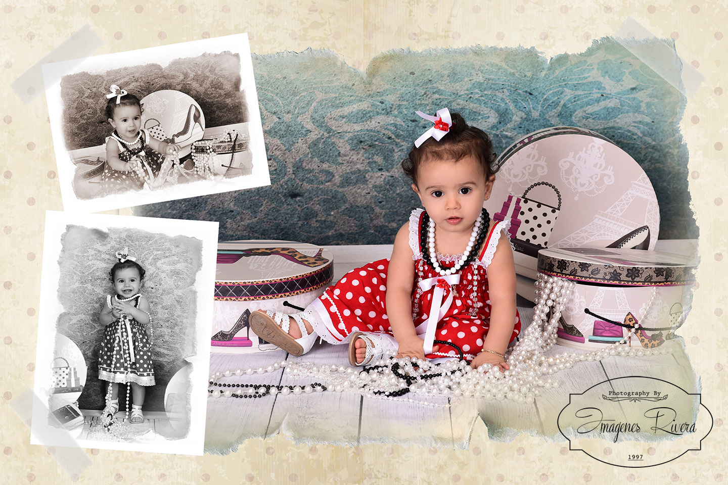 ♥ Danielys is ONE!!!|Miami baby photographer Imagenes Rivera ♥