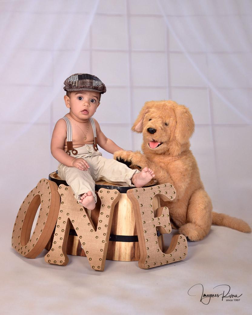 ♥ One year photo shoot | Children photographer Imagenes Rivera ♥