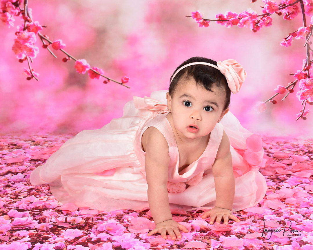 ♥ Cute baby flower girl | Children photographer Imagenes Rivera ♥